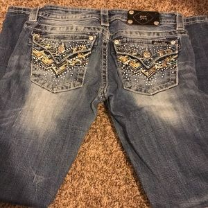Size 28 regular Miss Me Jeans